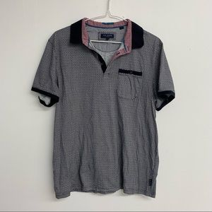 Ted Baker London Printed Polo T-Shirt